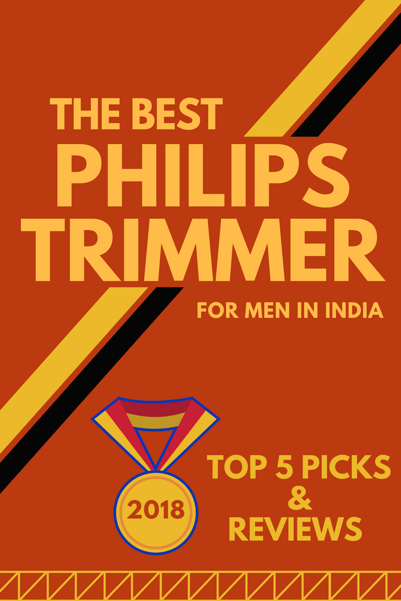 Best Philips Trimmer for Men in India