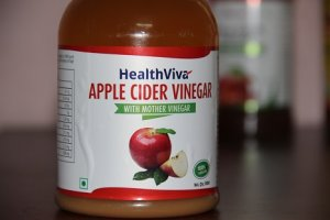 apple cider vinegar with mother from HealthViva